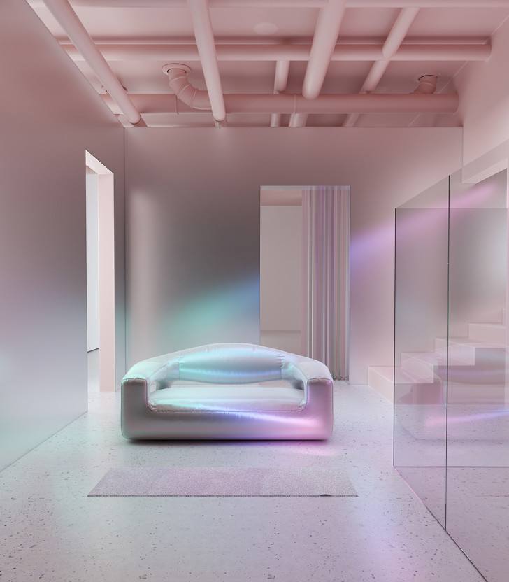 Голографическая мебель от студии Six N. Five (фото 0)