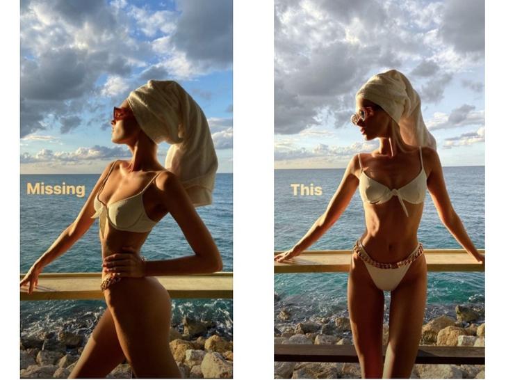 Эльза Хоск поделилась снимками в купальнике (фото 0)