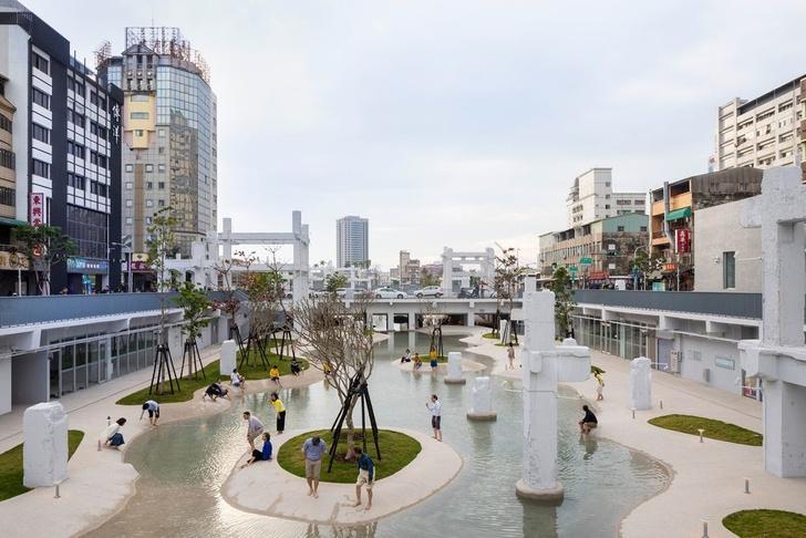 Городской бассейн на месте бывшего долгостроя в Тайнане (фото 3)