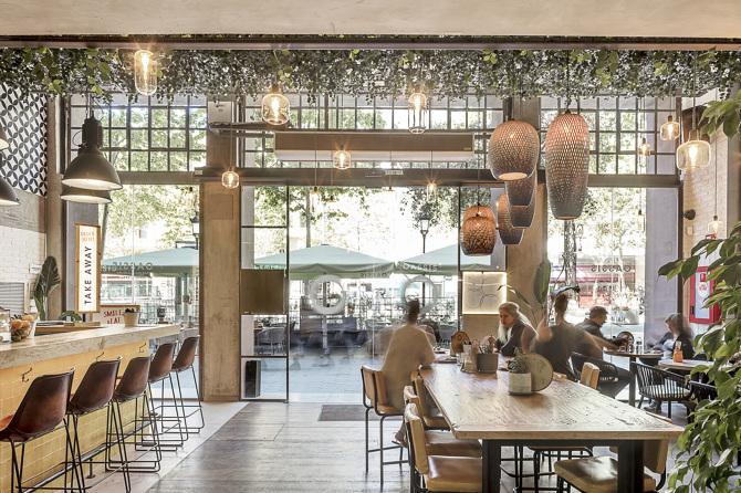 Oassis: тихий ресторан в центре Барселоны (фото 2)