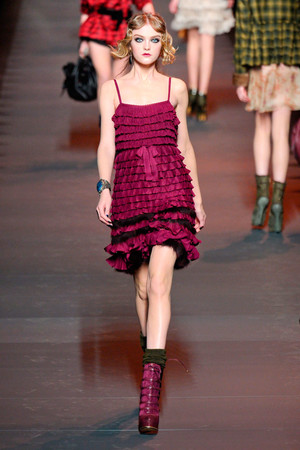 Показы мод Christian Dior Осень-зима 2011-2012 | Подиум на ELLE - Подиум - фото 2160