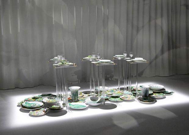 Новая коллекция посуды Hermés Passifolia (фото 3)