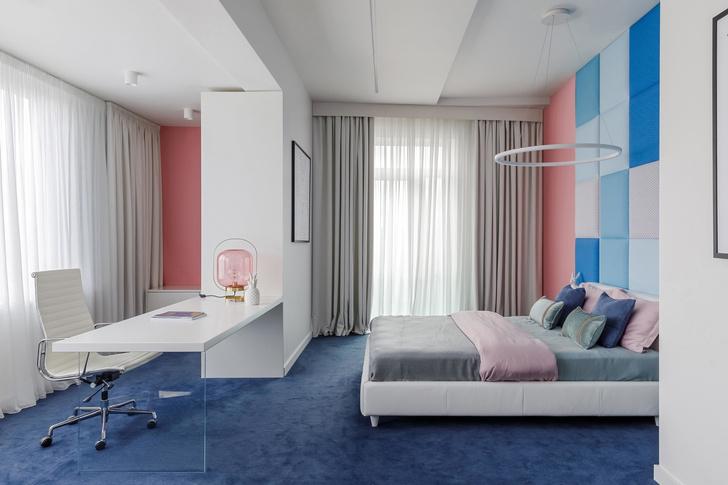 Геометрия и минимализм: квартира 210 м² в Москве (фото 8)
