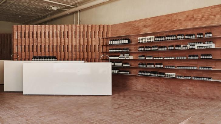 Минималистичный бутик Aesop в Бруклине (фото 0)
