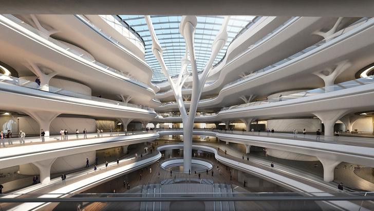 Главные проекты Zaha Hadid Architects в России (фото 20)