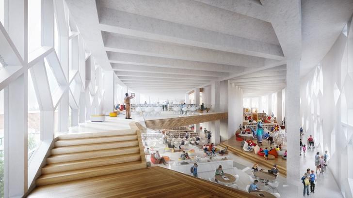 Городская библиотека в Калгари от бюро Snøhetta (фото 8)