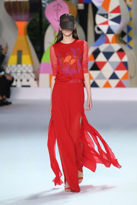 Akris выпустил коллекцию одежды по мотивам творчества Александра Жирара   галерея [1] фото [5]