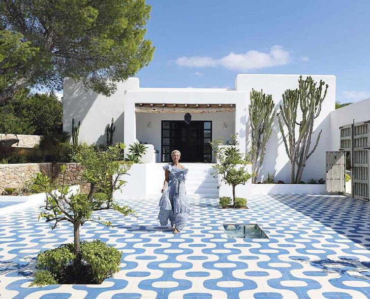 Дом на Ибице в средиземноморском стиле (фото 0)