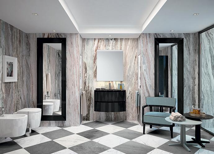 Мебель и аксессуары для ванной от фабрики Oasis