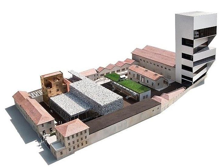 Новое здание Fondazione Prada в Милане откроется в апреле (фото 7)