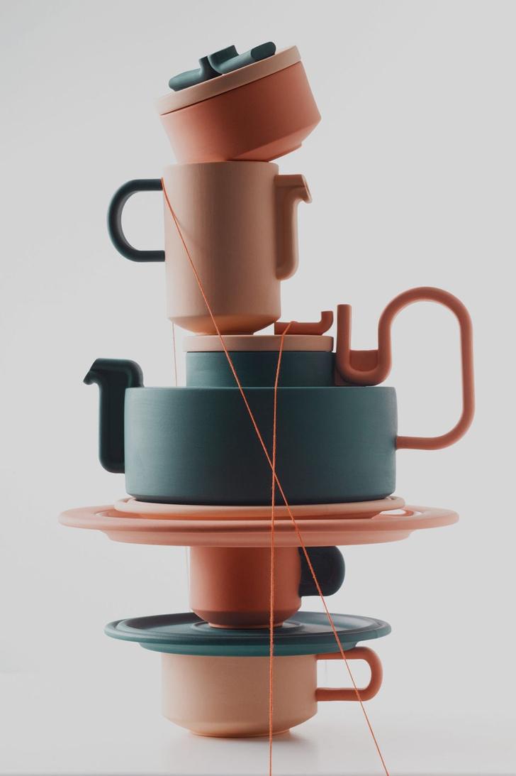 Чайный сервиз Бетан Лоры Вуд для Rosenthal (фото 5)