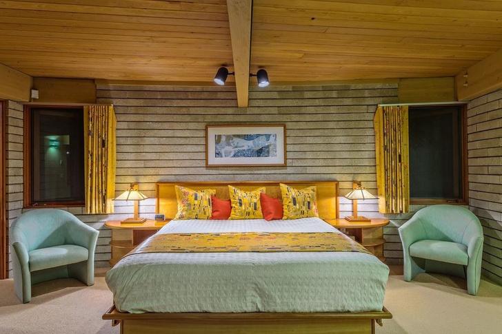 Дом по проекту Фрэнка Ллойда Райта на Гавайях (фото 10)