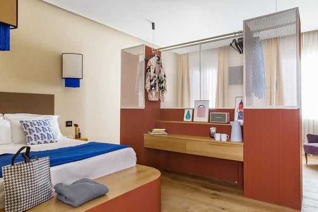 Комната в Риме: уютный бутик-отель в духе кондоминиума (фото 13)
