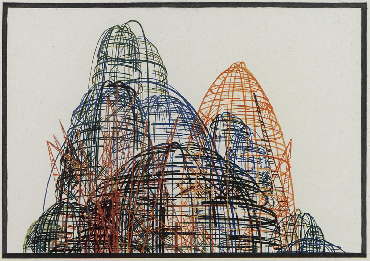 В Музее архитектуры открывается выставка «Яков Чернихов. Образы архитектуры» | галерея [1] фото [4]
