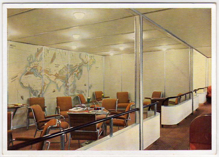 Интерьеры дирижабля «Гинденбург» (фото 11)