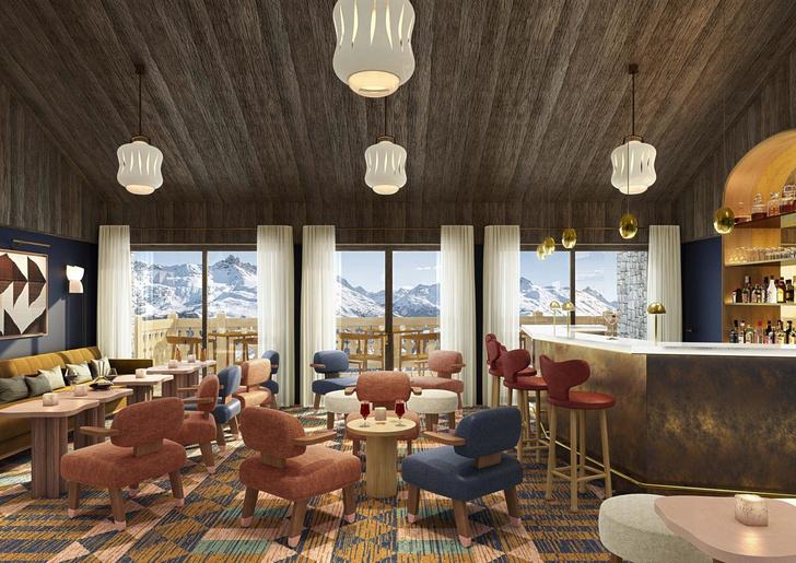 Le Coucou: дизайн-отель по проекту Пьера Йовановича в Мерибеле (фото 18)