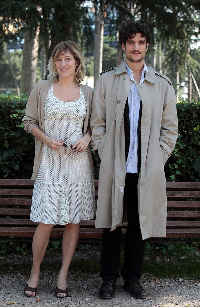Луи Гаррель с экс-возлюбленной Валерией Бруни-Тедески