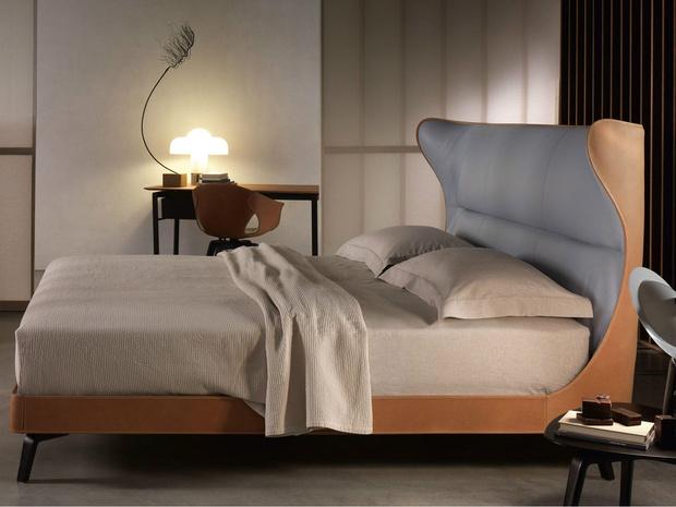 Кровать Mamy от Poltrona Frau