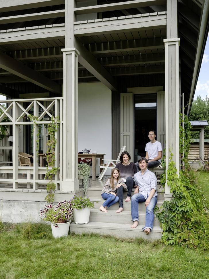 Дачный дом Татьяны Бродач и Федора Арзаманова (фото 0)