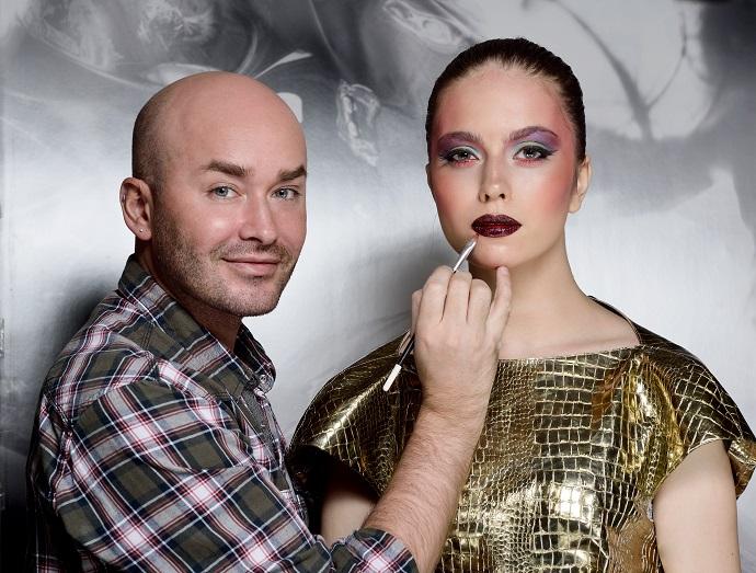 Владимир Калинчев, основатель и владелец школы визажистов Vladimir Kalinchev Make-up Studio