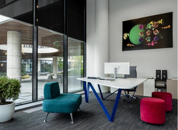 Яркий офис архитектурного бюро Proektor (фото 8)