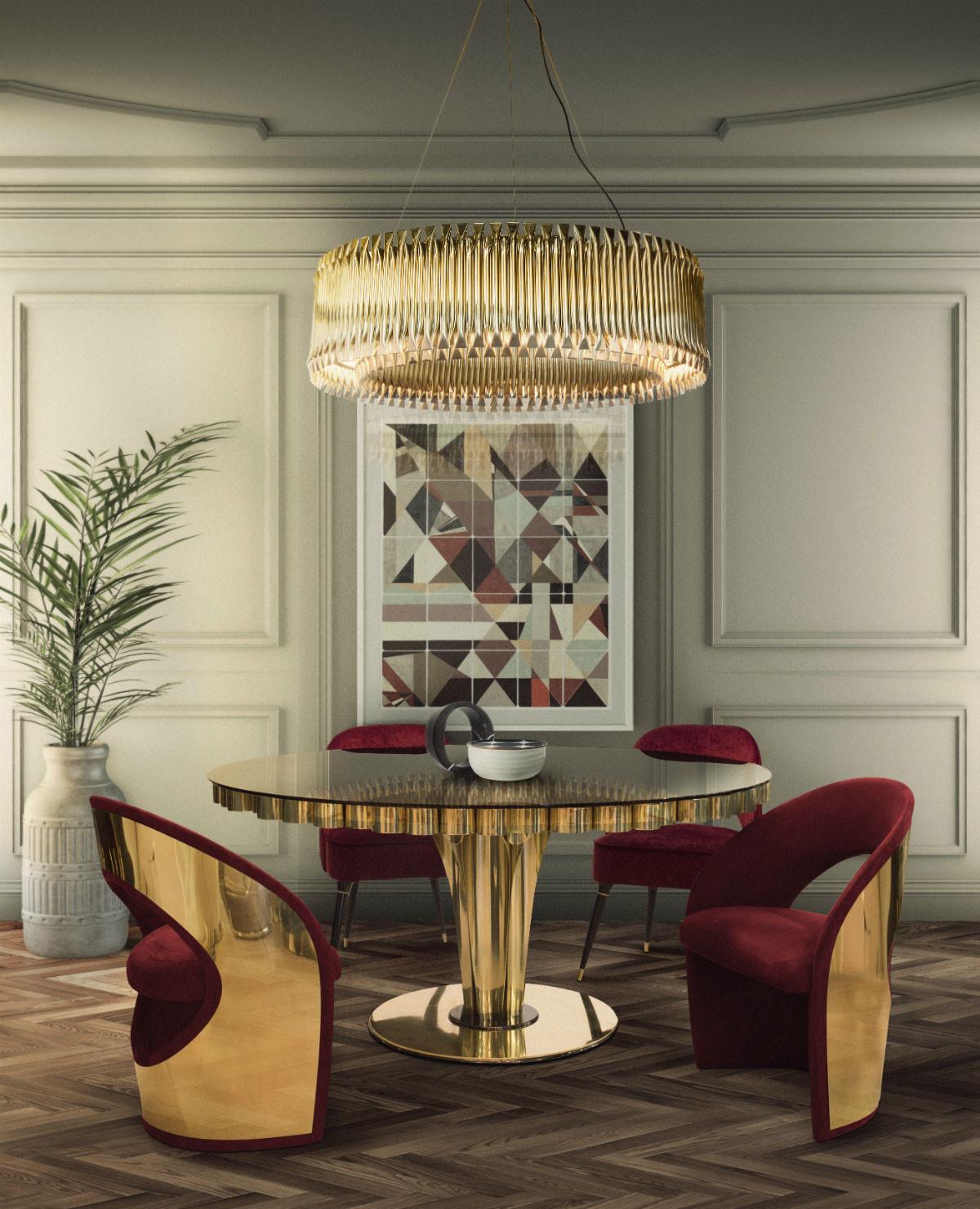 Elle decoration for Stanza da pranzo moderna