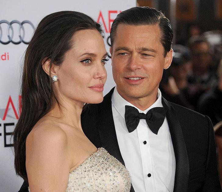 Анджелина Джоли и Брэд Питт встретят Хэллоуин вместе фото [1]