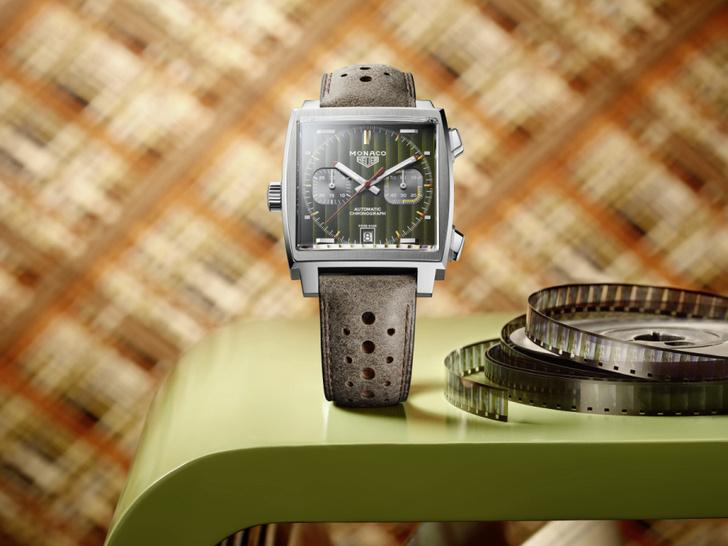 TAG Heuer представили первую из пяти коллекционных моделей Monaco (фото 1)