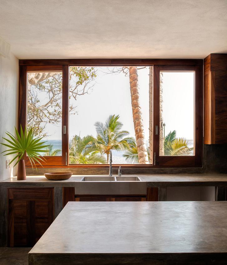С видом на океан: серферский домик в Мексике (фото 7)