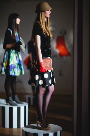 Показ Kate Spade коллекции сезона Осень-зима 2012-2013 года Prêt-à-porter - www.elle.ru - Подиум - фото 346136