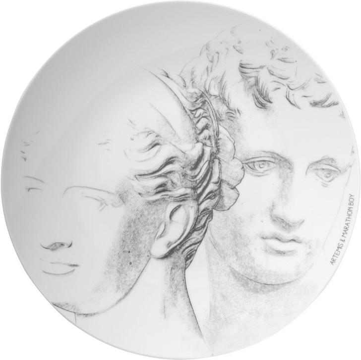 Топ-10: портреты на тарелках