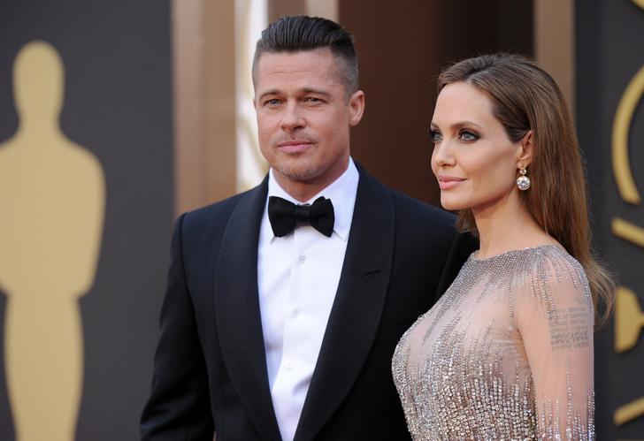 Анджелина Джоли хочет помириться с Брэдом Питтом (фото 1)
