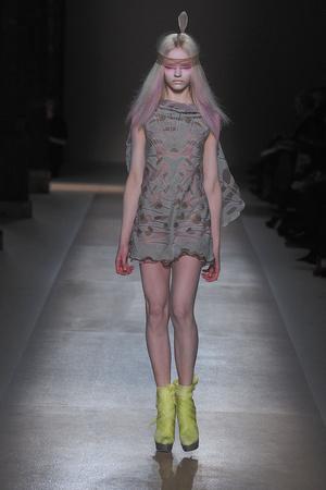 Показ Valentino коллекции сезона Весна-лето 2010 года Haute couture - www.elle.ru - Подиум - фото 139286