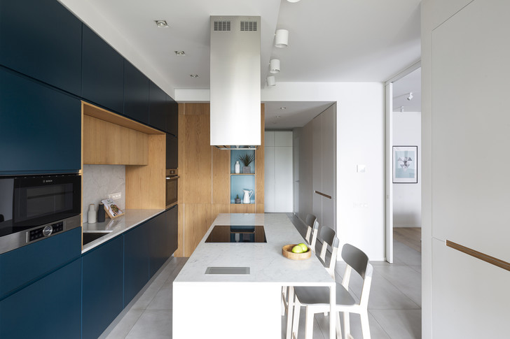 Квартира 150 м²: нескучный проект в скандинавском стиле (фото 7)
