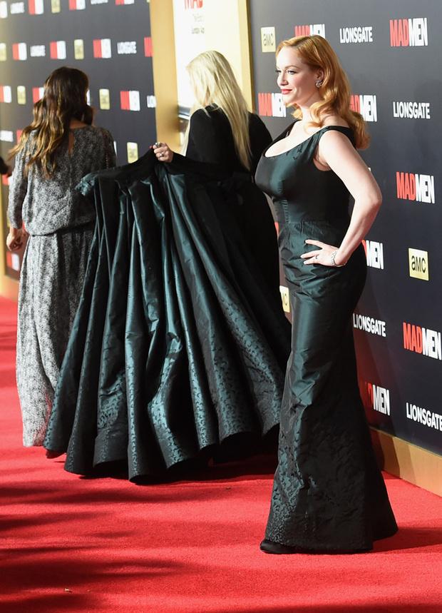 Кристина Хендрикс в вечернем платье