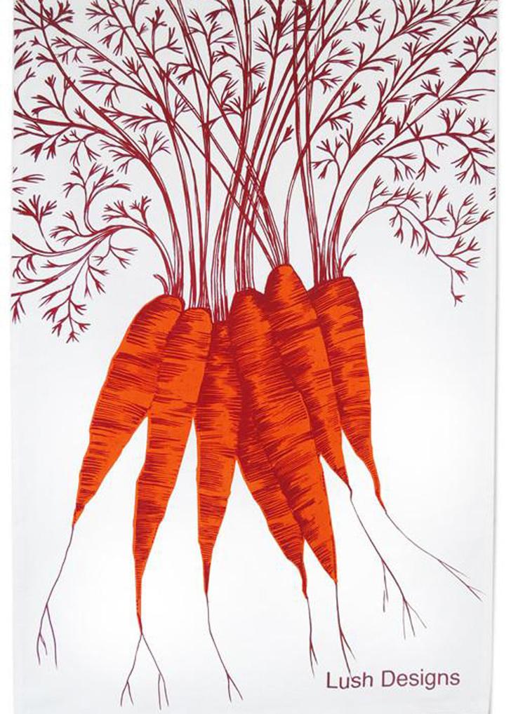 Топ 10: Праздник урожая. Овощи, фрукты и ягоды на предметах декора фото [14]