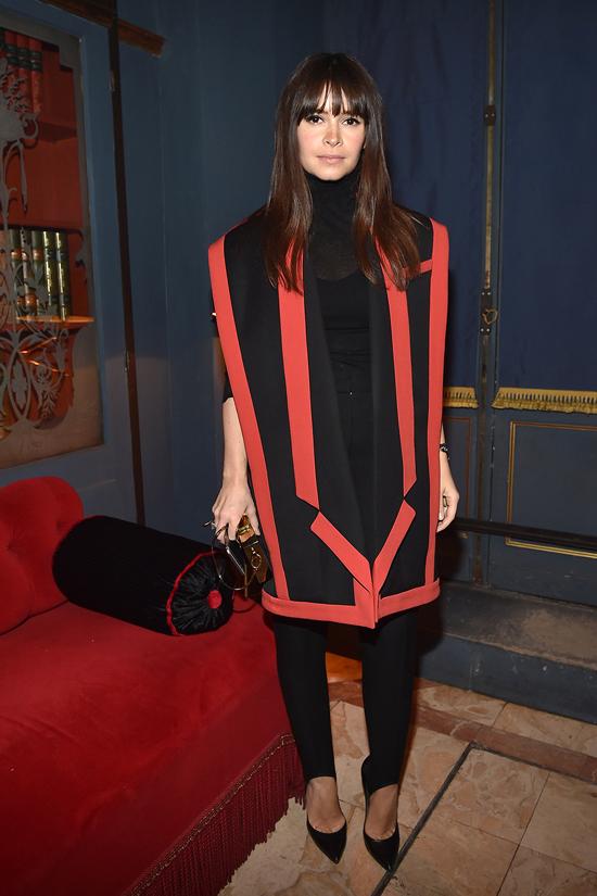 Balmain Aftershow Dinner as part of the Paris Fashion Week Womenswear March 5, 2015