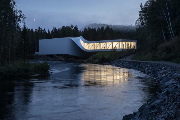Арт-галерея на мосту по проекту студии BIG (фото 10)