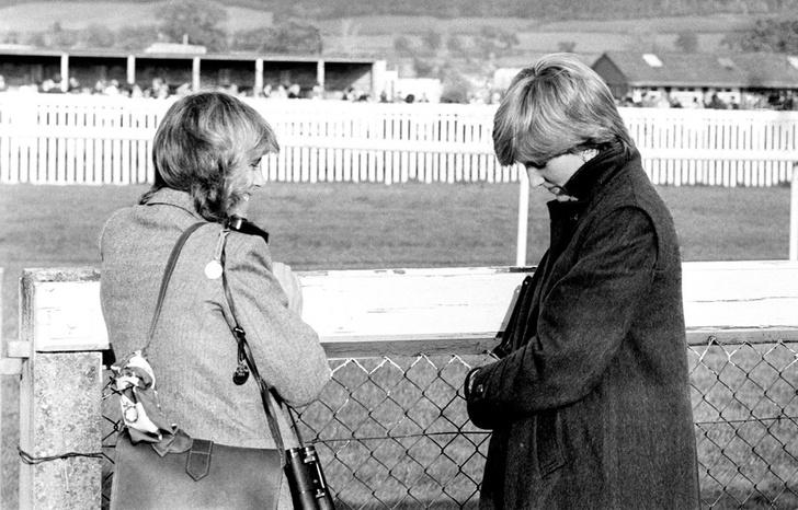 Камилла Паркер-Боулз и принцесса Диана фото