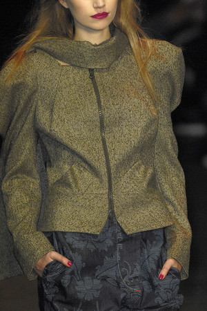 Показ Vivienne Westwood Red Label коллекции сезона Осень-зима 2009-2010 года Prêt-à-porter - www.elle.ru - Подиум - фото 94027