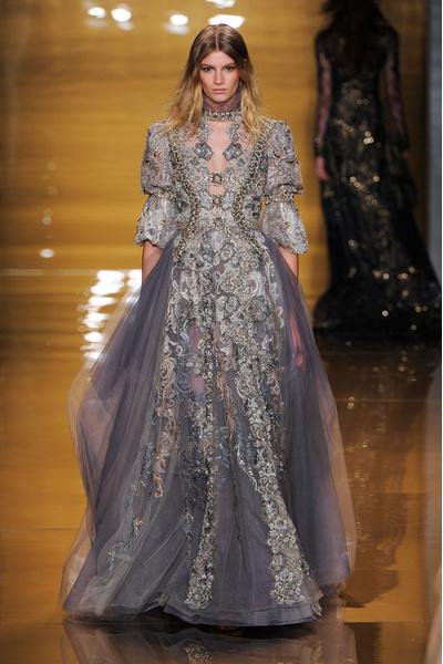 Black tie: показы Carolina Herrera, Reem Acra и Zac Posen на Неделе моды в Нью-Йорке | галерея [3] фото [3]