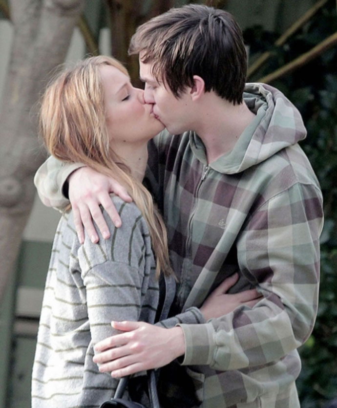 NICHOLAS HOULT + Jennifer Lawrene