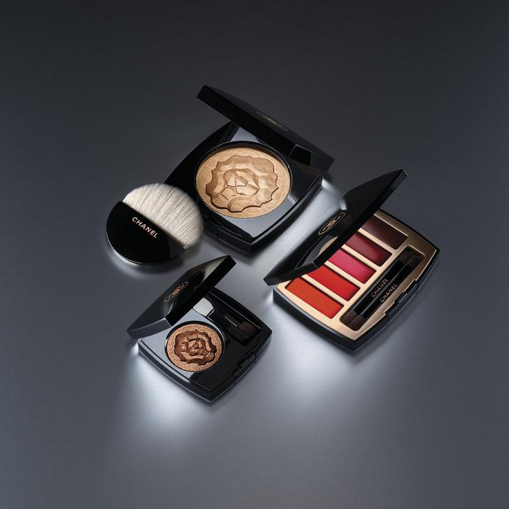 Рождественская коллекция макияжа Maximalisme de Chanel (фото 5)