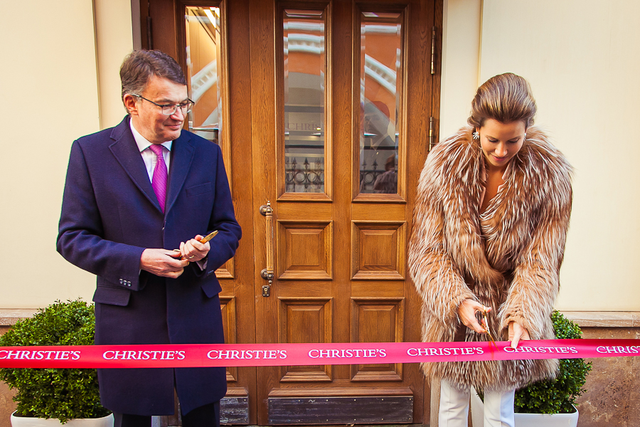 Открытие нового офиса аукционного дома Christie's в Москве   галерея [1] фото [1]