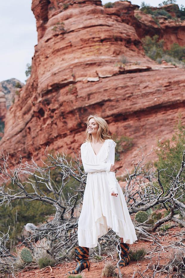 Дневник Валерии Дергилевой: как прошел иммерсивный показ H&M Studio в красных каньонах Аризоны (фото 3)