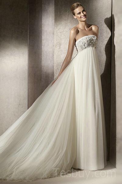 Свадебные платья для беременных невест   галерея [1] фото [4]