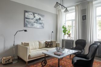 Квартира 80 м² в старомосковском стиле (фото 4.1)