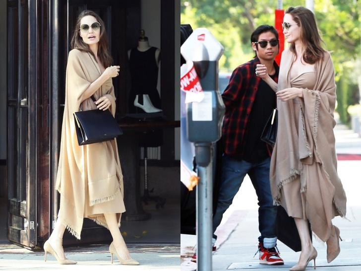 Анджелина Джоли в Лос-Анджелесе (фото 4)