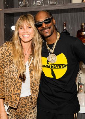 Вот это реп: Хайди Клум и Snoop Dogg на вечеринке (фото 0.2)