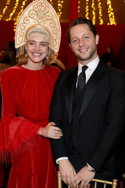 Наталья Водянова и Дерек Бласберг